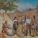 Famille Lagimodière au Fort Gibraltar 1812