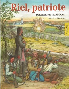 Riel, patriote - Tome 2 (couverture)