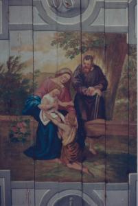 Sainte Famille; Murale originale deTauffenbach)