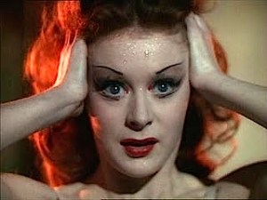 Moira Shearer, in character in 'The Red Shoes'