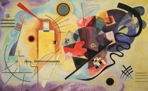 Wassily Kandinsky, 'Yellow, Red, Blue' (1925)
