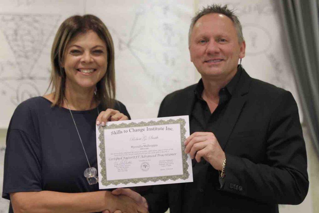 RObert Gene Presenting Skills To Change Institute Certificate