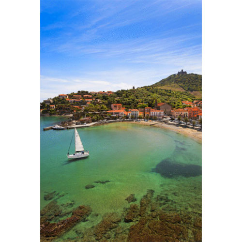 France - Collioure- Sailboat