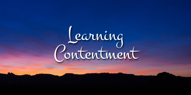 Image result for learning contentment