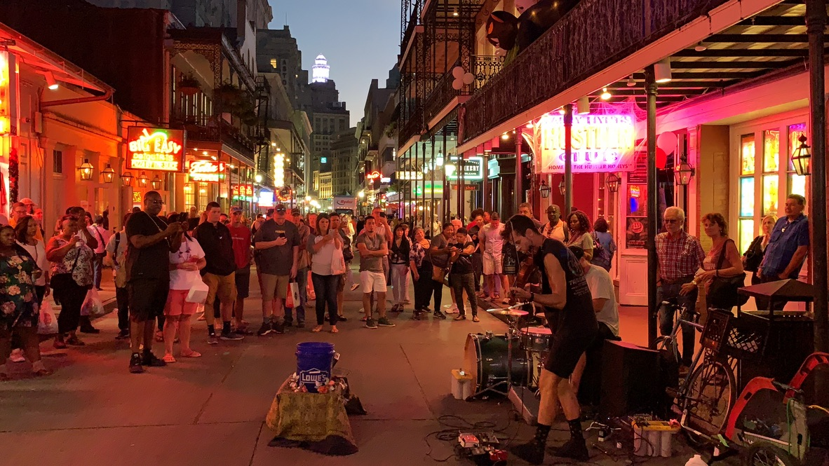 Visited the French Quarter