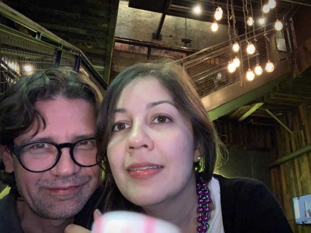 Couple having dinner - New Orleans