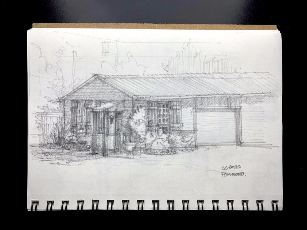 Pottsboro UrbanSketch Sketchbook