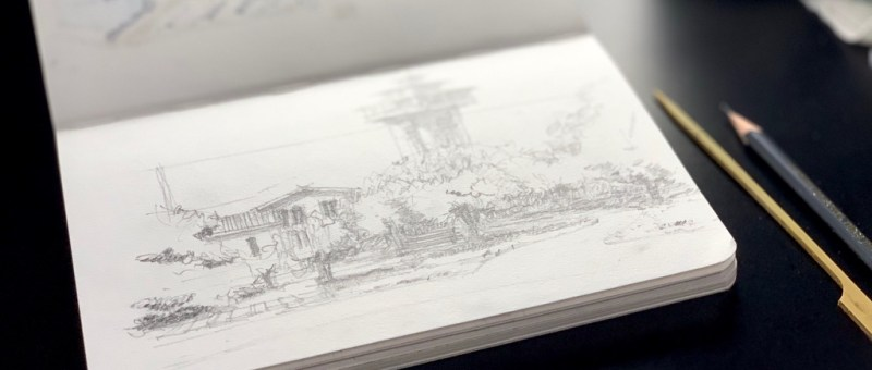 Sketchbook - Sketching Tanglewood Resort