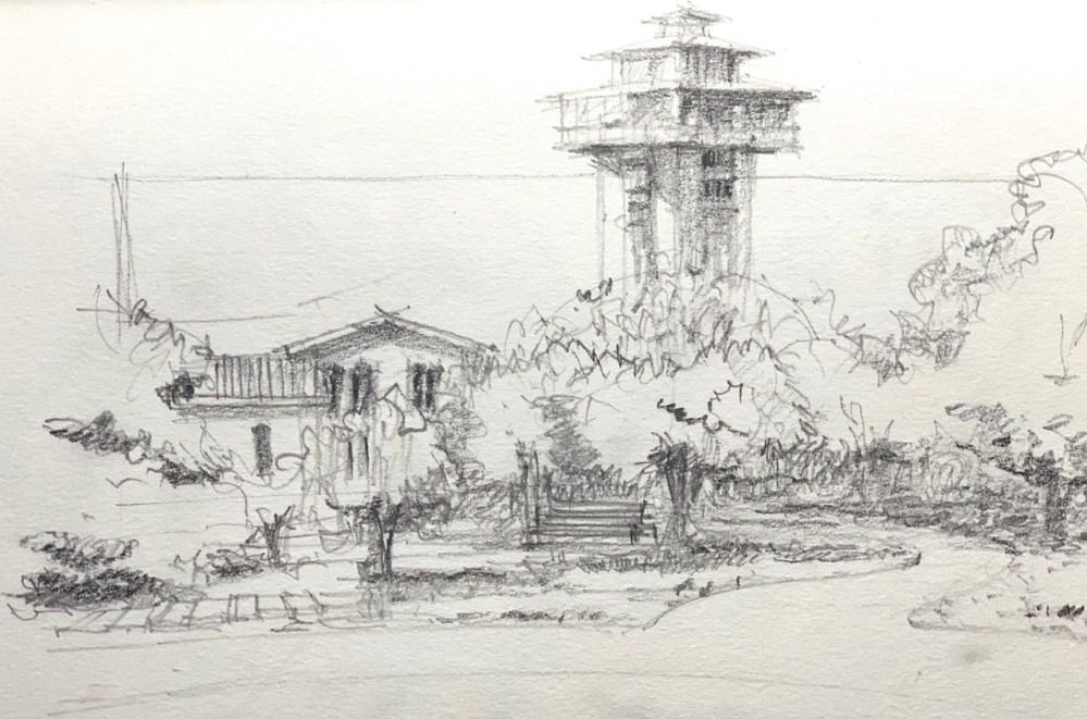 Sketching Tanglewood Resort