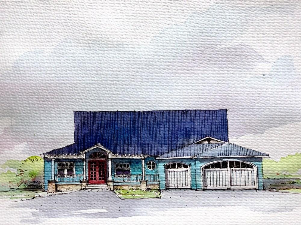 Southern House - Sketch
