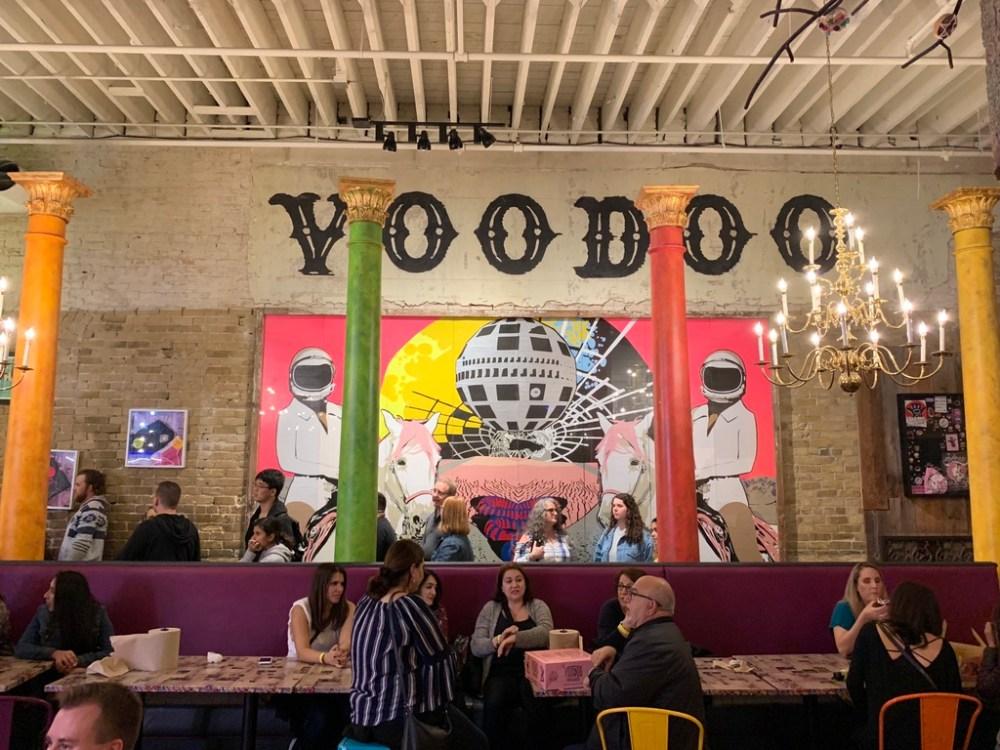 The Voodoo Doughnuts Interior