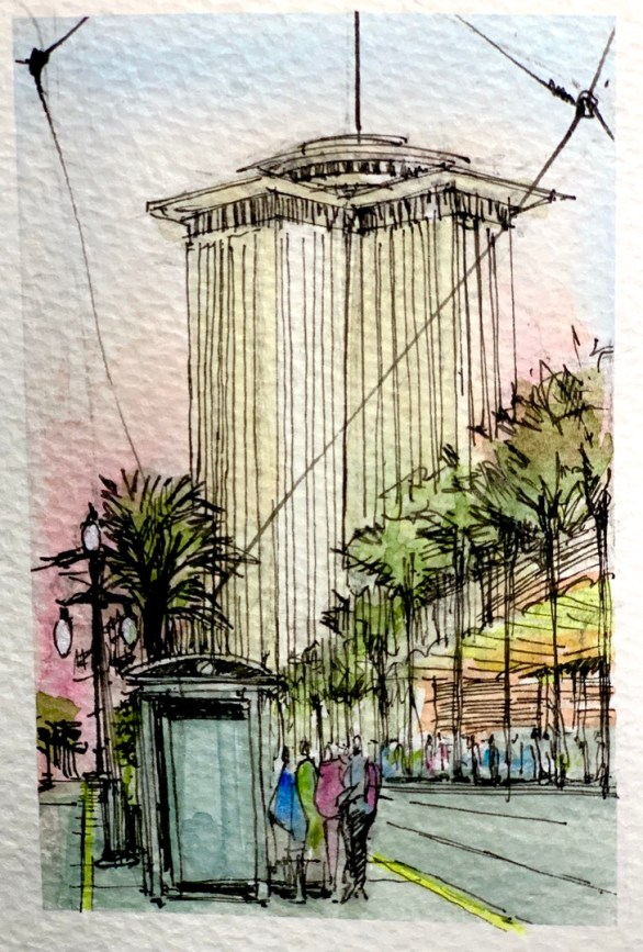 Canal Street Sketch