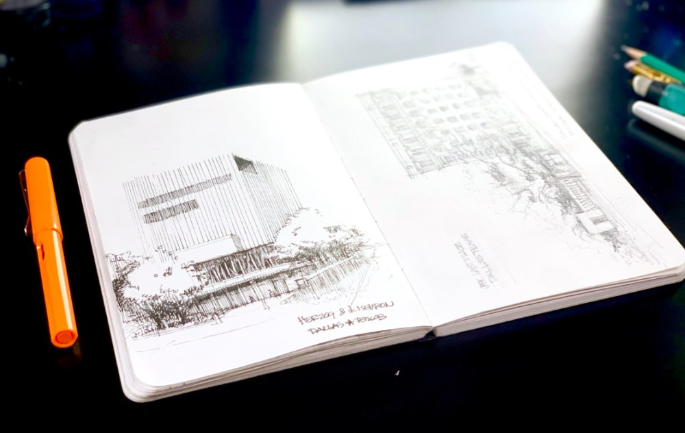 Herzog & de Meuron Sketch