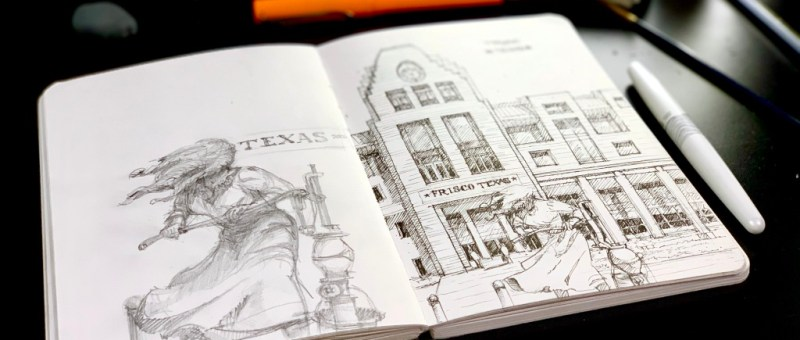 Sketchbook Sketching Frisco Texas