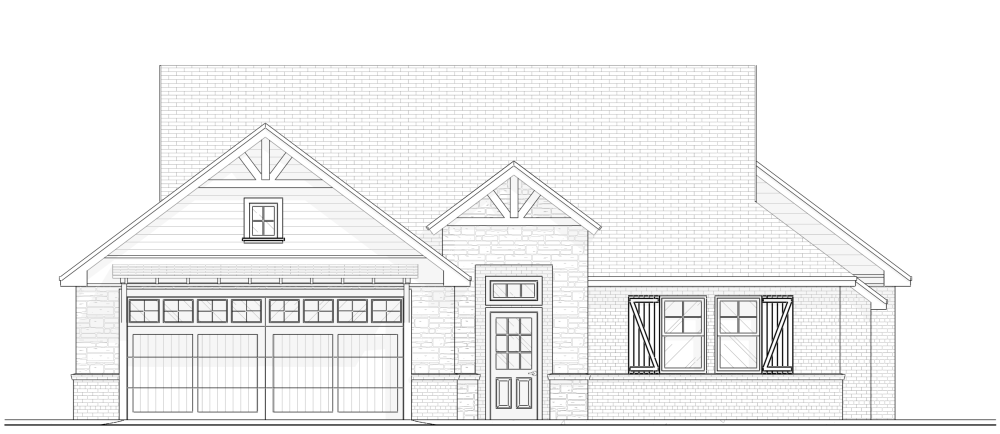 Farmhouse Elevation