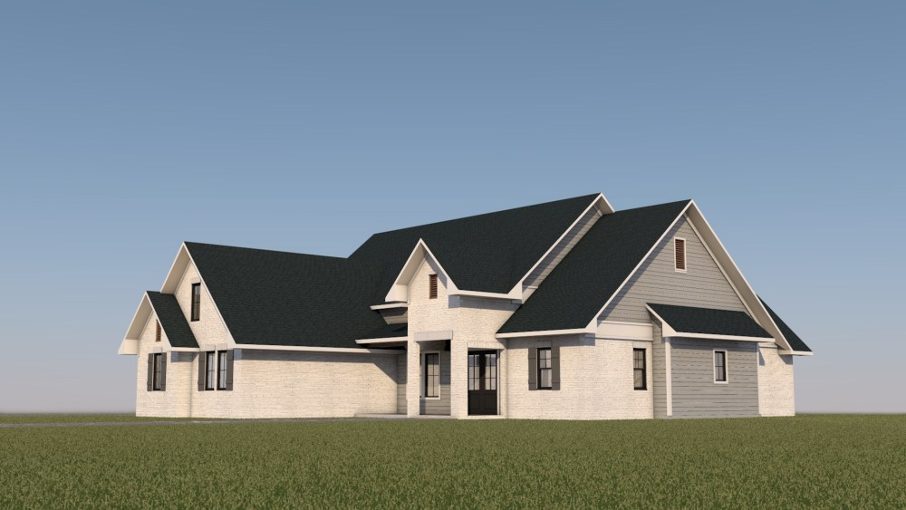 Modern Farmhouse - House Design