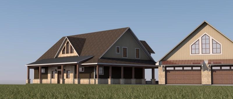 Moody Lake House Design