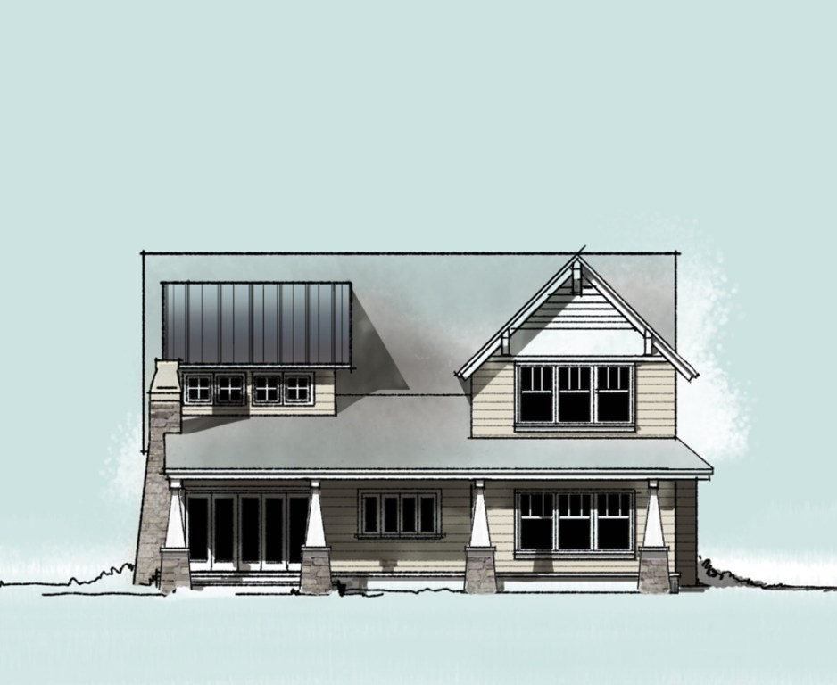 Craftsman House Elevation - Chef House