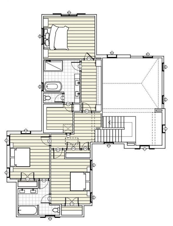 UPPER LEVEL House Plan