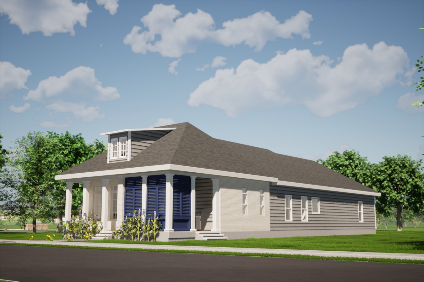 Florida Style House - Custom House Design