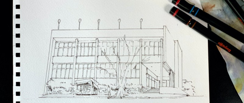 Drawing the best modernist buildings