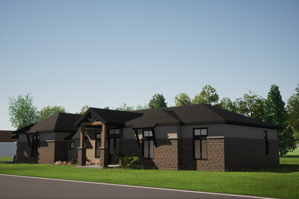 New Texas House for a lovely couple, Render