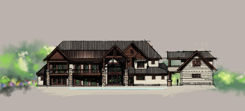 Unique Lakehouse Sketches