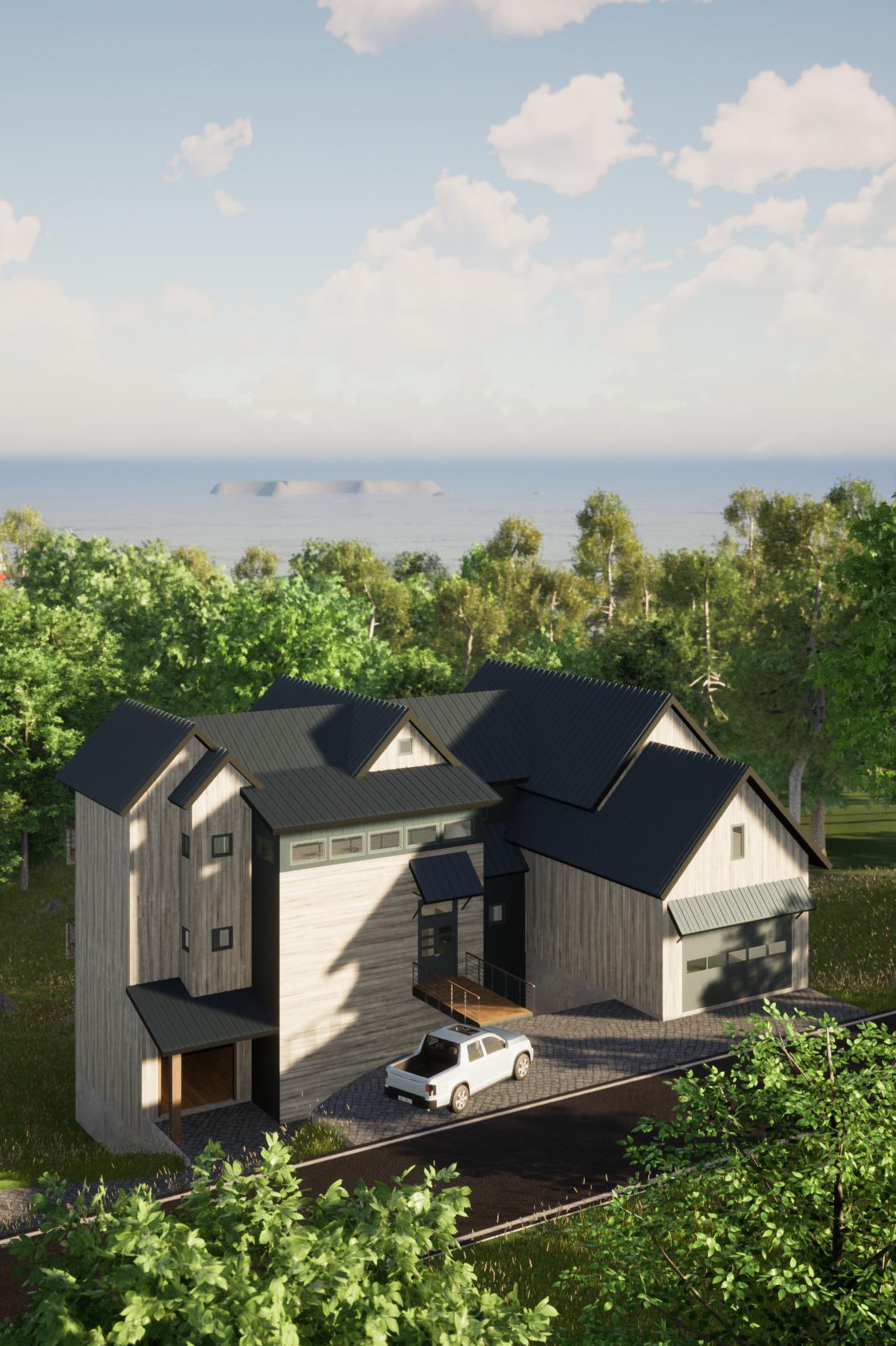 Modern Rustic Lakehouse