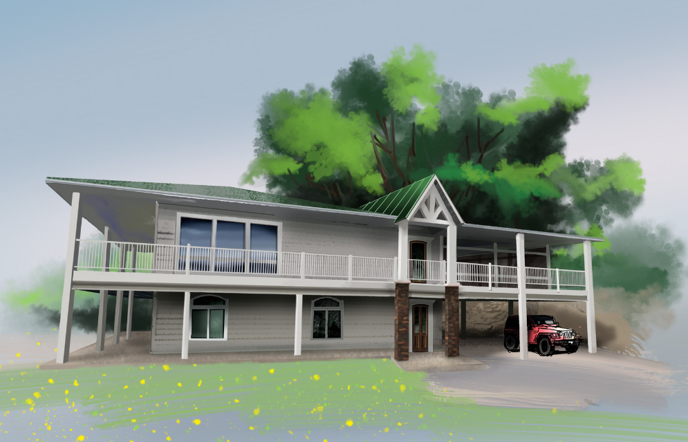 Digital Sketches for a Lakehouse