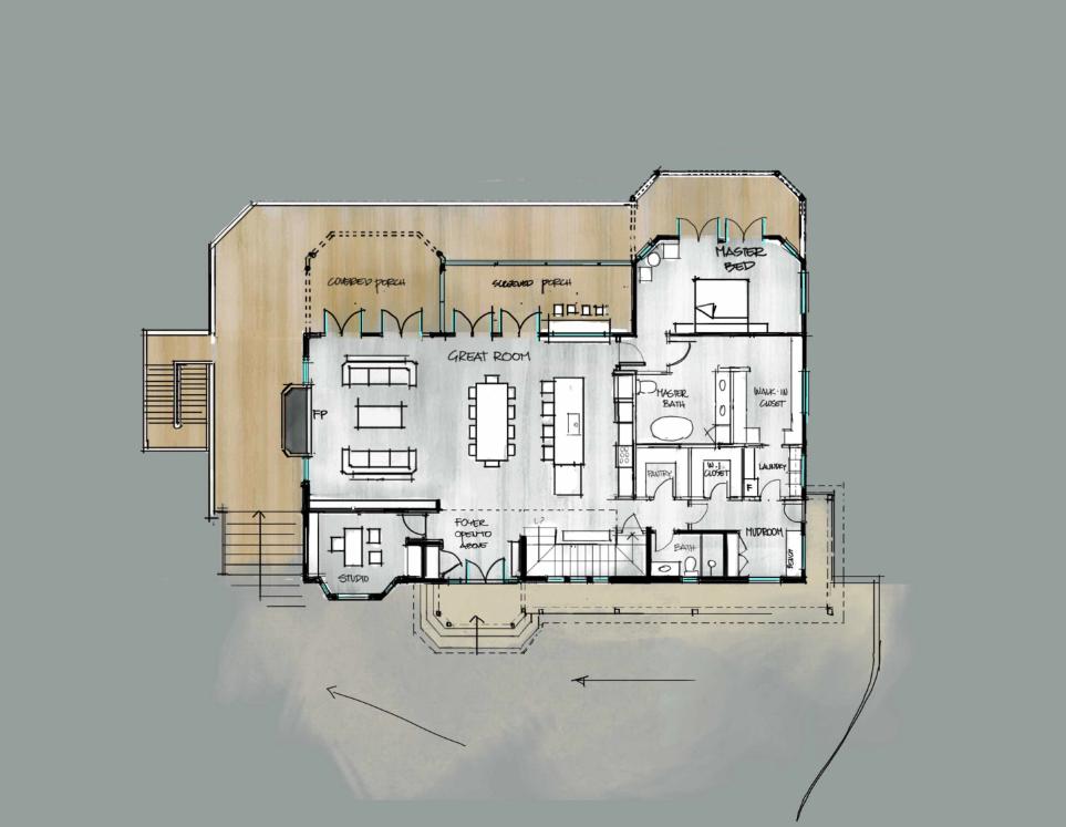 Victorian Floor Plan
