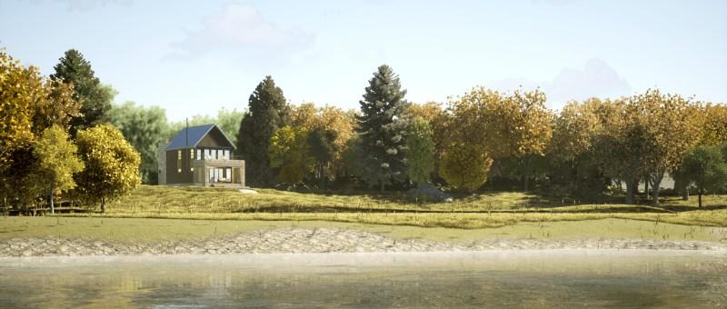 Contemporary Cabin - Lakehouse Design
