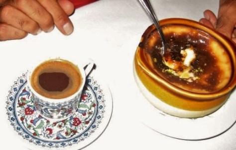 Espresso and crème brulee