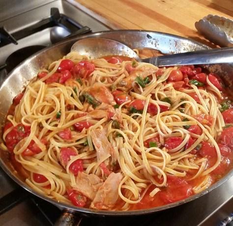 tuna tomato