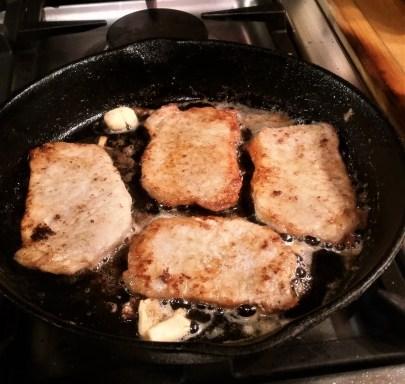 Pork Cutlets Piccata