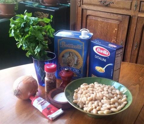 Macaroni and Beans