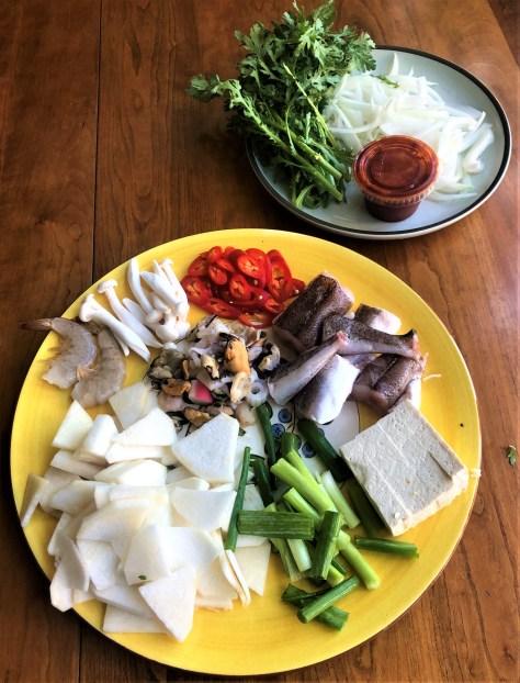 Whiting Stew Korean Style