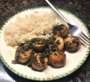 sea scallops with brown butter recipe