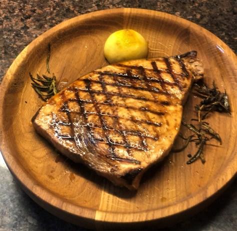 Lemon Grilled Sword Fish