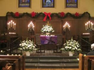 union christmas altar