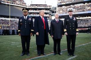 Trump in Uniform