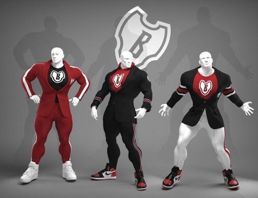 Sport Sartorial suits for bodybuilders