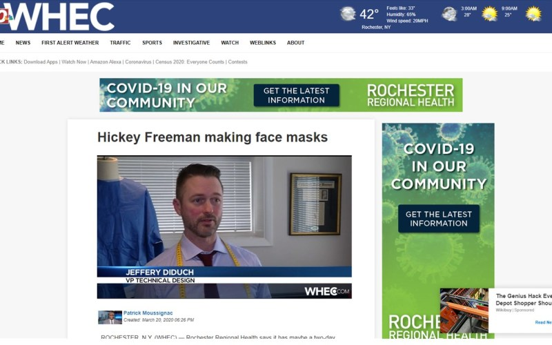 WHEC-10 News Screenshot