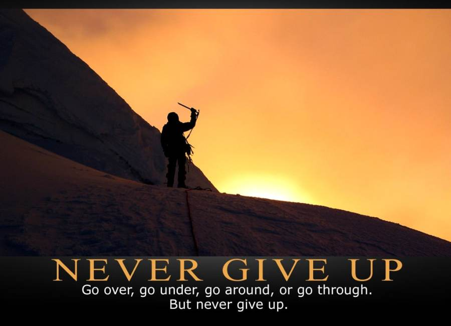 """Winston Churchill – """"Never Give In"""""""