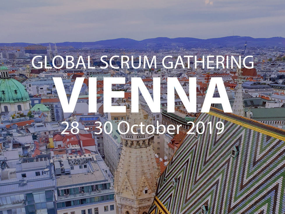 Global Scrum Gathering Vienna 2019 Photo by Robert Kalweit