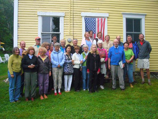 Group Photo, David Dewey's Maine Master Class Workshop (Week II )