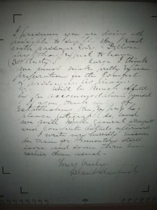 Stanford Letter 2