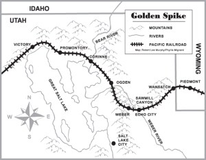 Golden Spike map-300