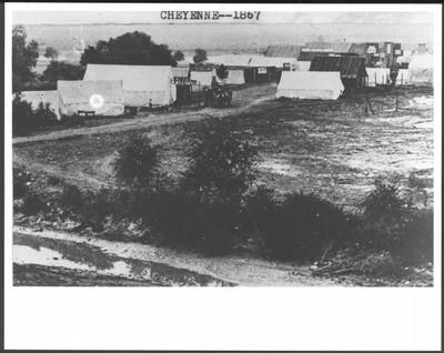 Cheyenne, Dakota Territory, 1867