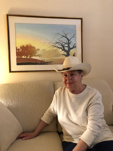 Barbara and her Stetson