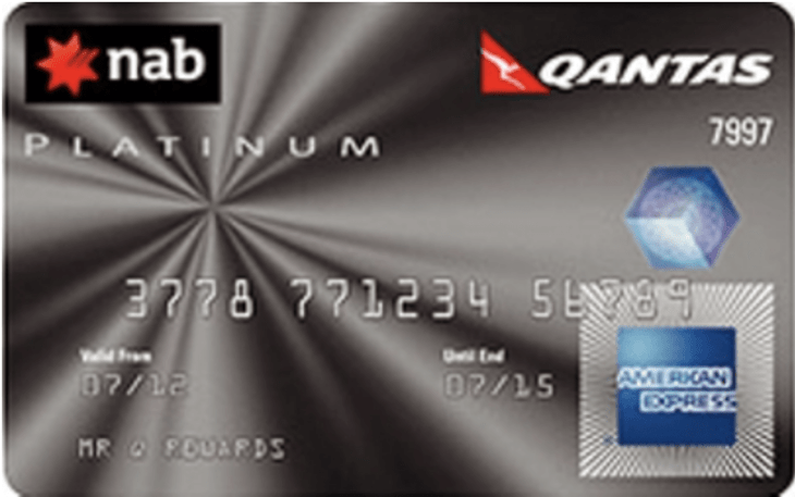 NAB American Express Card Example